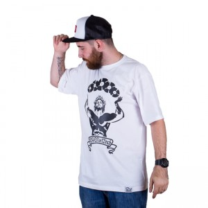 T-shirt DJ'S Wear Power Of 12inch White