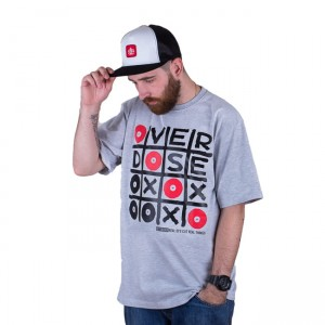 T-shirt DJ'S Wear Overdose Grey