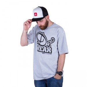 T-shirt DJ'S Wear Logo Grey
