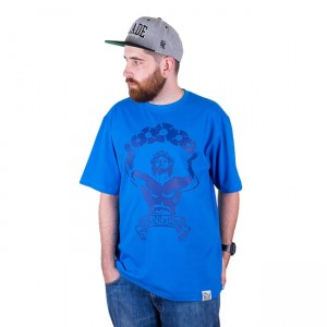 T-shirt DJ'S Wear Power Of 12inch Blue